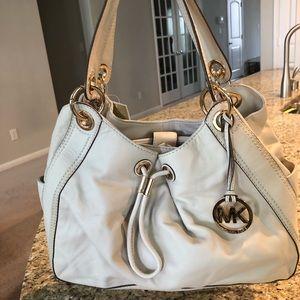 Cream Michael Kors Women Handbag